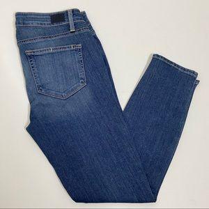 PAIGE Verdugo Crop Skinny Ankle Stretch Jeans